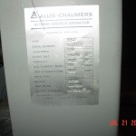 Allis Chalmers FC-500A1 circuit breaker