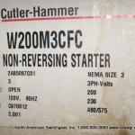 W200M3CFC Non Reversing Starter