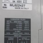 ABB S3N030TW molded case circuit breaker S3N