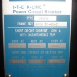 ITE K800S air circuit breaker