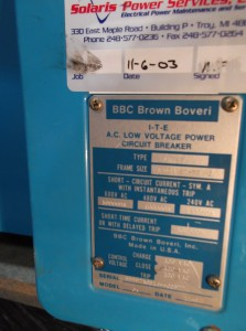 ITE BBC LK-42 Circuit Breaker