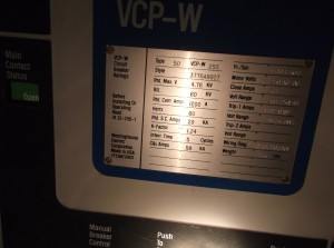 Westinghouse 50VCP-W250 Circuit Breaker