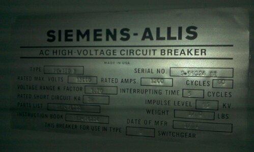 siemens allis fc 750b medium voltage air circuit breakers radio wiring diagram 93 chevy s 10 #15