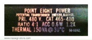 Point Eight Power Potential Transformer