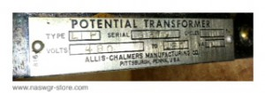 Allis Chalmers Potential Transformer