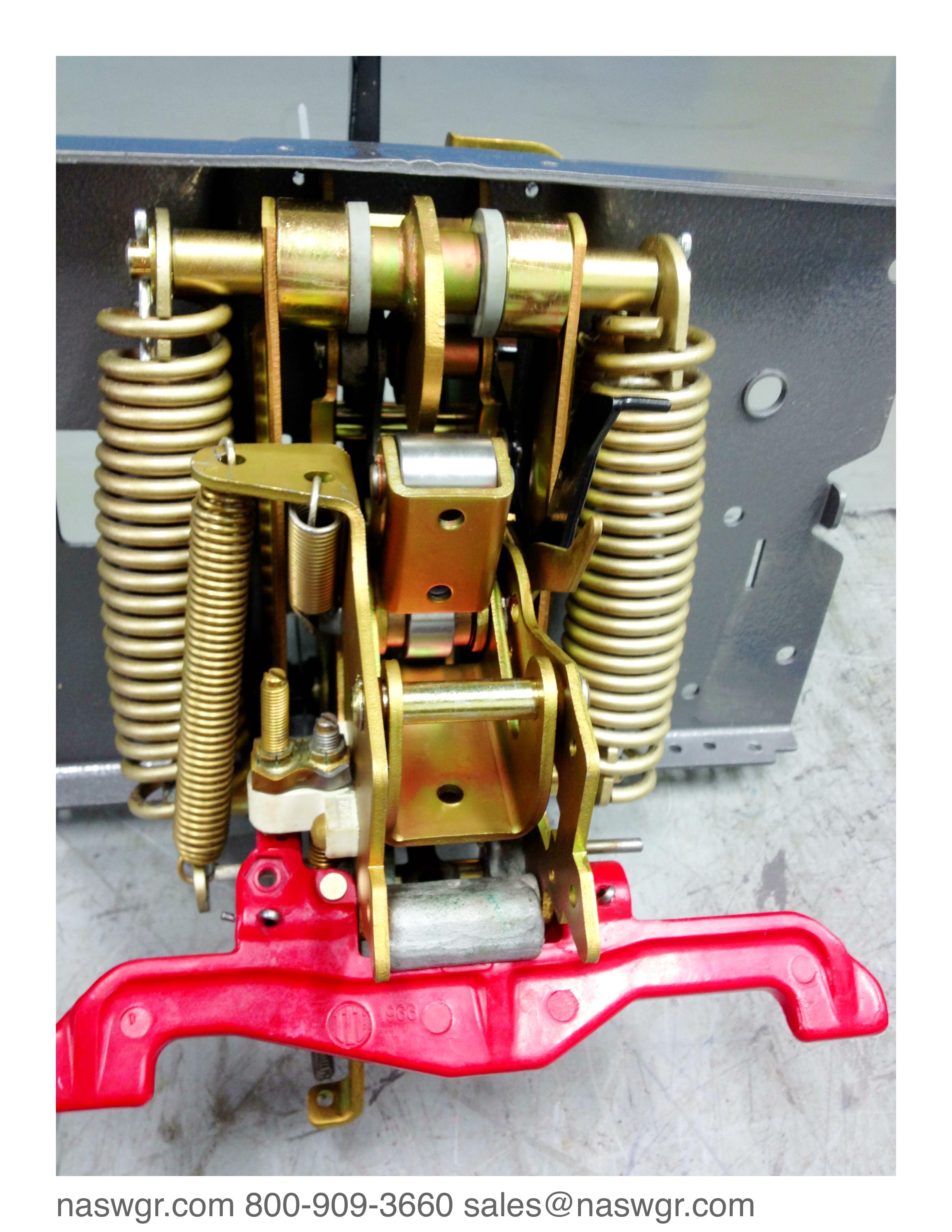 K 600 Ite K 600 Circuit Breaker Being Re Assembled