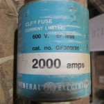 GE 2000A fuse 19053 (2)