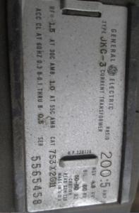 JKC-3 nameplate