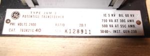 JVM-3 DBL Fused Nameplate