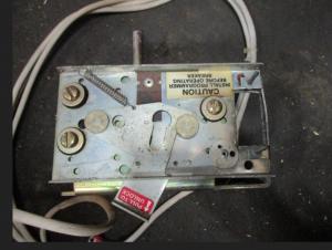 RMS 9 Mounting Bracket W  wire harness