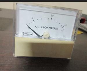 cromptom 1.6 kiloamp meter front