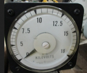 GE AB-40 18 KILOVOLT METER
