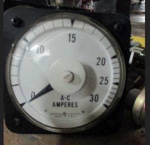 GE AB-40 30 AMP Meter