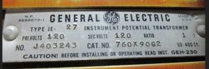 GE JE-27 PT 760X90G2