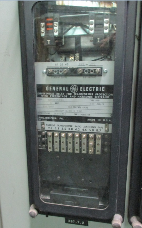 Ge Type Bdd Differential Relay For Transformer Protection With Percent  U2014 North American