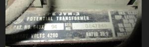 GE Type JVM-3 PT CAT# 64X94