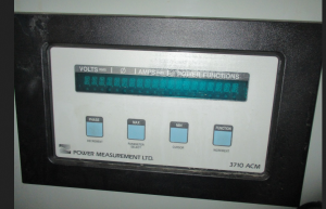 Power Measurement LTD model 3710ACM FV