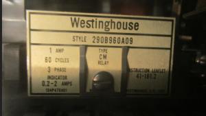 Westinghouse CM relaynp