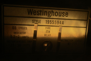 Westinghouse ITH relay Style 1955594A np