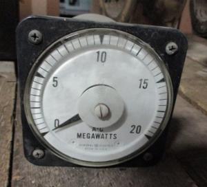 GE 20Megawatt Meter 50-106221FCSP1ACX