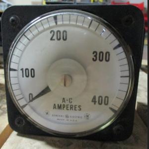 GE Amp Meter Model 8AB 18A7ALI fv