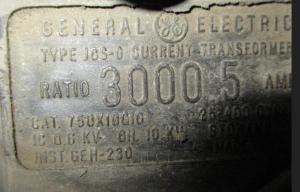 GE JCS-O 3000-5 Doughnut CT np