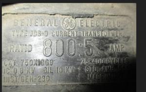 GE JSC-O 800-5 Doughnut CT