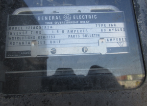 GE Type IAC 12IAC51A2A Time Overcurrent Relay np