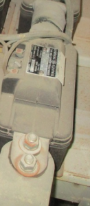 GE Type JKS-3 Cat 629X17 300-5 inline CT FV
