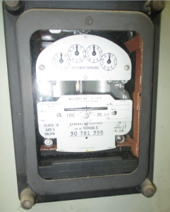 GE Type Polyphase Watthour Meter FV