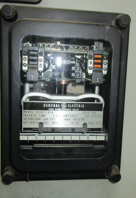 Ge Type Iac Model 12iac51b3a Overcurrent Relay North