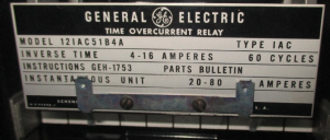 GE type IAC 12IAC51B4A np