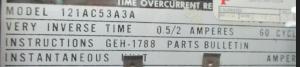 GE type IAC 12IAC53A3A np