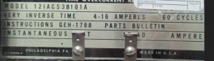 GE type IAC 12IAC53B101A np