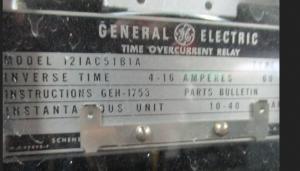 Ge type IAC 12IAC51B1A np